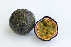 passions fruits / (passiflora edulis edulis) - stock photo