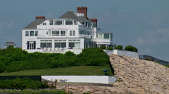 Taylor swift's summer home in rhode island Stock Footage