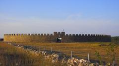 Eketorp, celtic fort, oland, sweden Stock Photos