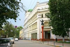 comedy theater in nizhny novgorod - stock photo