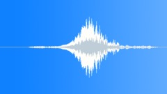PBFX Sci fi appear whoosh debris 782 Sound Effect