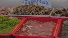 Cijin Island - In the bins Stock Footage