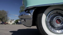 1956 Cadillac Sedan De Ville Stock Footage