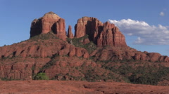 Cathedral Rock Sedona Arizona - stock footage