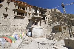 Shey monastery in ladakh, indus valley, jammu and kashmir, india Stock Photos