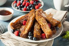 Stock Photo of homemade french toast sticks