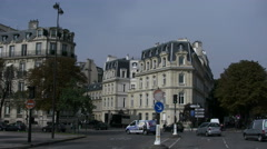Paris buildings and streets 4k Stock Footage