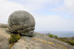 Stock Photo of bowl rock, granite, stony hill outlook near albany, western australia, austra