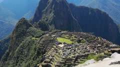 Machu Picchu, Peru - UNESCO World Heritage Site Stock Footage