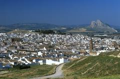 town of antequera, málaga province, andalusia, spain - stock photo