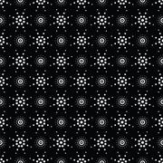 Seamless pattern of symbolic stars Stock Illustration