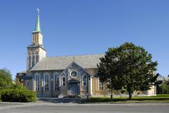 Tromsáthedral, the northernmost protestant cathedral in the world, troms?orw Stock Photos