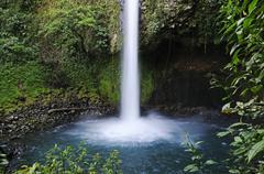 Stock Photo of la fortuna waterfall, costa rica, central america