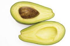 Avocados (persea americana) Stock Photos