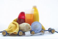 Products of spa and personal hygiene Stock Photos