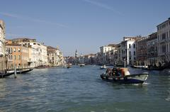 Canale grande in venice italy Stock Photos