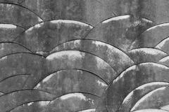 curves texture - stock photo