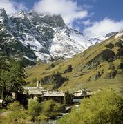 Val varaita west of saluzzo province cuneo piemonte piedmont italia italy chi Stock Photos