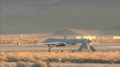 MQ-1 Predator Drone Stock Footage