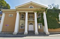 registry office in schwabing munich germany - stock photo