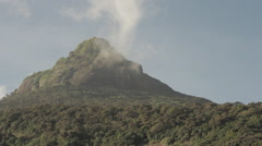 Temple on the big mountain Stock Footage