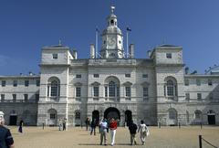 Parade ground in front of the royal horseguards in london, great britain Stock Photos