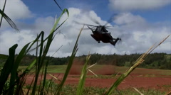CH-53E Super Stallion Helicopter Stock Footage