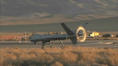 MQ-9 Predator Drone Stock Footage