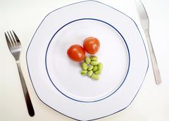 symbolic for crash diet - stock photo