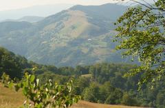 Ukraine, Carpathian Mountains - stock photo