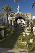 Stock Photo of triumph arch of marc aurel, marcus aurelius, in tripoli, libya