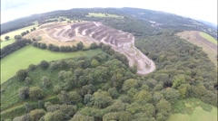Abercarn Quarry Stock Footage