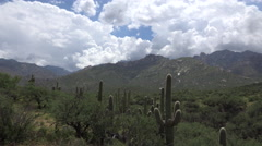 4K Time Lapse Clouds Tucson Arizona Landscape Stock Footage