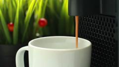Coffee Preparation Stock Footage