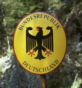Stock Photo of national emblem federal republic of germany