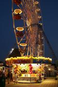 ostsee - kirmes - stock photo