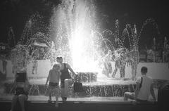 Stock Photo of a city fountain