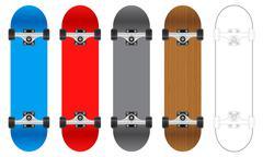 Skateboard Piirros