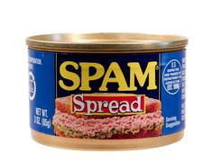 Spam spread Stock Photos