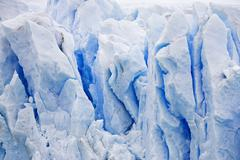 Stock Photo of ice at the glacier perito moreno, national park los glaciares, argentina, pat