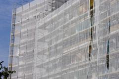 Scaffolding, 1950s high-rise Kuvituskuvat