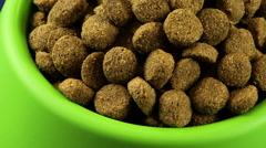 Dog Food Zoom Out HD - stock footage