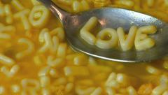 Gourmet Soup Love HD Stock Footage