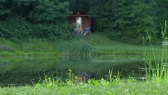 Camping cabin HD Stock Footage