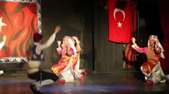 Concert of folk dances, Antalya, Turkey 5 Stock Footage