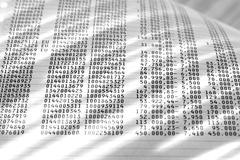 Rows of numbers Kuvituskuvat