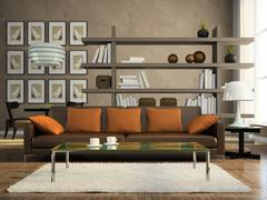 part of the modern apartment - stock illustration