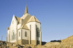 Stock Photo of felsenkirche, church on rocks, luederitz, namibia, africa