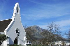 Church stellenbosch province western cape stellenbosch south afrika Stock Photos
