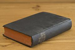 The holy scripture (old protestant edition) Stock Photos